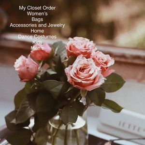 Other - My Closet Order!